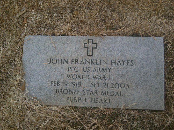 My Great Uncle. John Franklin Hayes